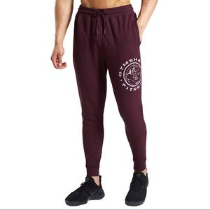 Gymshark Legacy Plus Burgundy Jogger Sweatpants